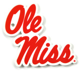 Mississippi Rebels Ole Miss Steel Magnet Magnet