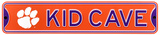 Clemson Tigers Steel Kid Cave Sign Wall Sign