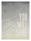 You Will Shine Giclee Print by Cheryl Overton