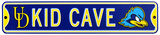 Delaware Blue Hens Steel Kid Cave Sign Wall Sign