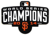 San Francisco Giants 2014 Champs Lasercut Steel Logo Sign Wall Sign