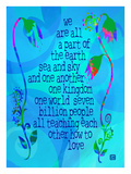 We are all Part of the Earth Giclee Print by Lisa Weedn