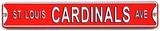 St. Louis Cardinals Ave Steel Magnet Magnet