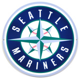 Seattle Mariners Lasercut Steel Logo Sign Wall Sign