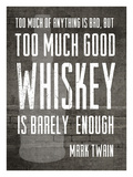 Good Whiskey Giclee Print by Cheryl Overton
