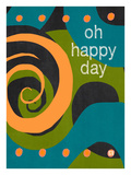 Oh Happy Days Giclee Print by Lisa Weedn