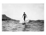 Underwood - Surfers Digitálně vytištěná reprodukce