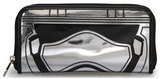 Star Wars Episode VII Captain Phasma Patent Zip Wallet Wallet
