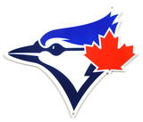 Toronto Blue Jays Lasercut Steel Logo Sign Wall Sign