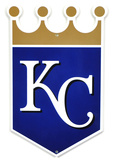 Kansas City Royals Lasercut Steel Logo Sign Wall Sign