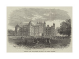 Burghley House, Near Stamford, the Seat of the Marquis of Exeter Giclee Print