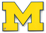 Michigan Wolverines Steel Magnet Magnet