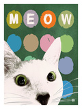 Meow Giclee Print by Lisa Weedn