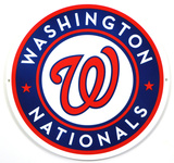 Washington Nationals Lasercut Steel Logo Sign Wall Sign
