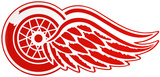 Detroit Red Wings Lasercut Steel Logo Sign Wall Sign