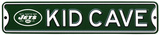 New York Jets Steel Kid Cave Sign Wall Sign