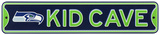 Seattle Seahawks Steel Kid Cave Sign Wall Sign