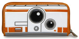Star Wars Episode VII BB8 Patent Zip Wallet Wallet