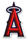 Los Angeles Angels Steel Magnet Magnet