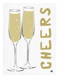 Cheers Giclee Print by Lisa Weedn