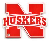 Nebraska Huskers N Husker Steel Magnet Magnet