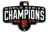 San Francisco Giants 2014 World Series Champions Steel Magnet Magnet