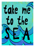 Take me to the Sea Giclee Print by Lisa Weedn