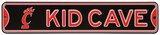 Cincinnati Bearcats Steel Kid Cave Sign Wall Sign
