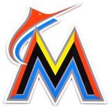 Miami Marlins Lasercut Steel Logo Sign Wall Sign