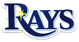 Tampa Bay Rays Lasercut Steel Logo Sign Wall Sign