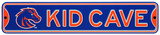 Boise State Broncos Steel Kid Cave Sign Wall Sign