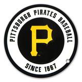 Pittsburgh Pirates Circular Logo Steel Magnet Magnet