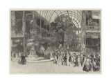 Interior of the Great Crystal Palace, the Transept Looking North Giclee Print