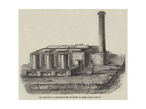 Dr Normandy's Water-Distilling Apparatus, at Aden Giclee Print