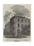 Messers Isaacs, Campbell, and Company's Warehouse, Northampton Giclee Print
