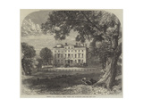 Brocket Hall, Hatfield, Herts, Where Lord Palmerston Died Giclee Print