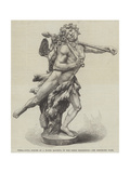 Terra-Cotta Figure of a Young Bacchus, in the Leeds Exhibition Wydruk giclee