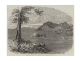 The Ionian Islands, Corfu, from the One-Gun Battery Giclée-tryk