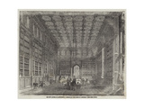 The New Houses of Parliament, Library of the House of Commons Giclee Print