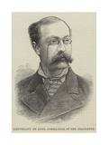Lieutenant De Long, Commander of the Jeannette Giclee Print