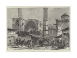 Sketches of Cyprus, St Sophia, Nicosia Giclée-tryk