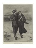 Oh! Wert Thou in the Cauld Blast, on Yonder Lea Giclee Print