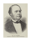 Mr Ole Richter, Norwegian Minister of State at Stockholm Giclee Print
