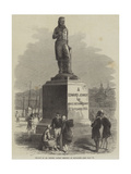 Statue of Dr Jenner, Lately Erected at Boulogne Giclee Print