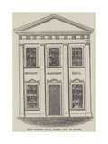New Masonic Hall, Cowes, Isle of Wight Giclee Print