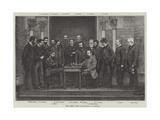 The Irish Chess Association at Belfast Giclee Print