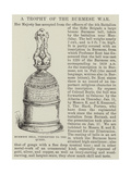 Burmese Bell, Presented to the Queen Giclee Print