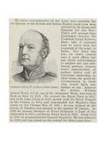 Admiral Sir a W a Hood, New Peer Giclee Print