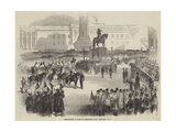 Proclamation of Peace at Trafalgar-Square Giclee Print