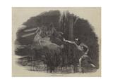 Algerine Will O' the Wisp Giclee Print